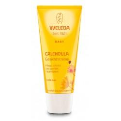 Baby Hidratant facial cu galbenele - Weleda