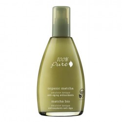 Emulsie tonica antiage cu extract de ceai verde, Organic Matcha - 100 Percent Pure Cosmetics