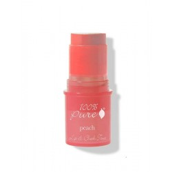 Nuantator satinat pentru buze si obraji Peach Glow - 100 Percent Pure Cosmetics