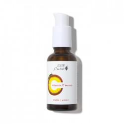 Ser cu vitamina C stabilizata, pentru toate tipurile de ten - 100 Percent Pure Cosmetics