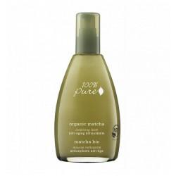 Spuma demachianta antiage cu ceai verde Organic Matcha - 100 Percent Pure Cosmetics