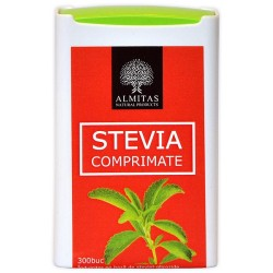 Comprimate Stevia - 300 comprimate - Almitas