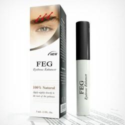 Serum pentru indesirea si cresterea sprancenelor 100% Natural, 3 ml - FEG