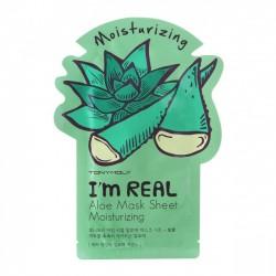 Masca faciala I'm Real cu Aloe Vera - TONYMOLY