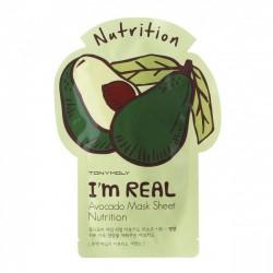 Masca faciala I'm Real cu Avocado - TONYMOLY