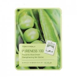 Masca anti-aging, PURENESS 100, cu placenta, 21ml - TONYMOLY