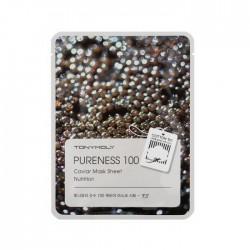 Masca pentru hranire, PURENESS 100, cu caviar, 21ml - TONYMOLY