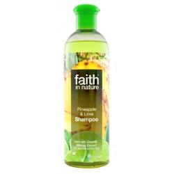 Sampon cu ananas si lime - Faith in Nature