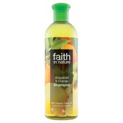 Sampon cu portocale si grapefruit - Faith in Nature