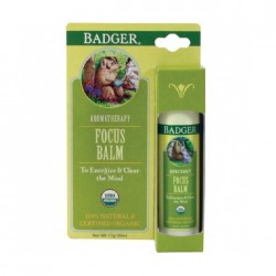 Balsam aromaterapie, Focus Mind - Badger