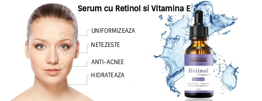 Serum cu Retinol si Vitamina E