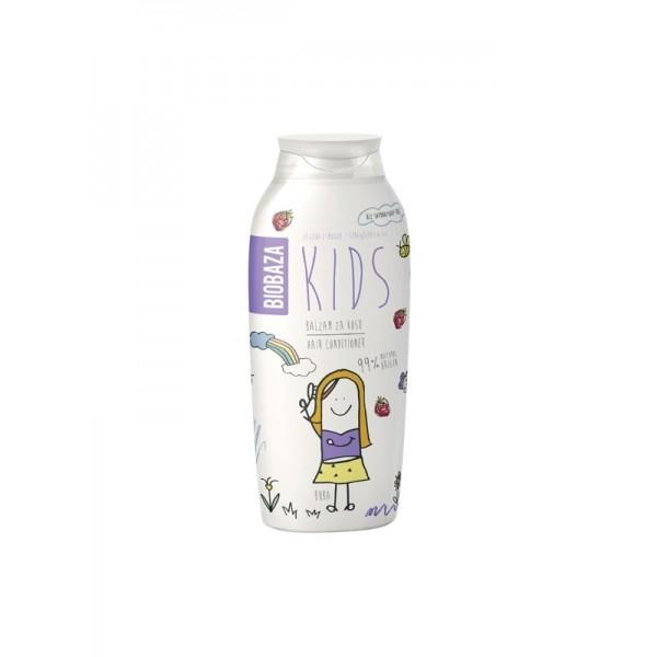 Balsam de par natural pentru copii (smochine si capsuni) - BIOBAZA
