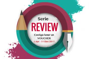 Scrie un review și câștigă lunar un voucher!