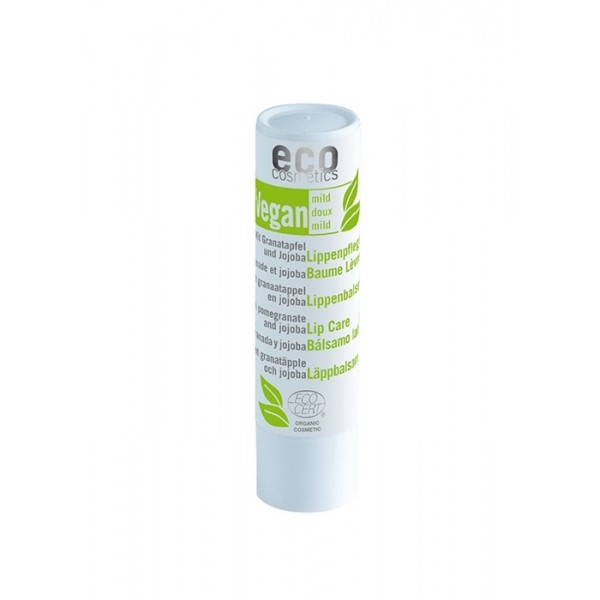 Balsam buze bio cu ulei de masline si rodie - Eco Cosmetics