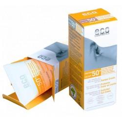 Crema bio cu protectie solara inalta FPS 50+, nuantata - Eco Cosmetics