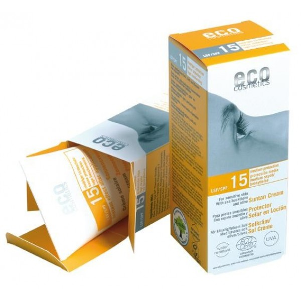 Crema bio protectie solara FPS15 - Eco Cosmetics