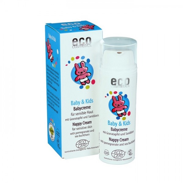 Crema iritatii scutec cu rodie si catina alba - Eco Cosmetics