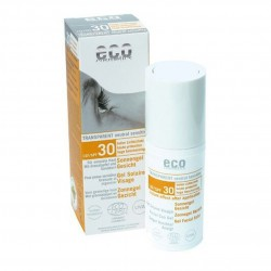 Gel facial transparent cu protectie solara inalta FPS 30 - Eco Cosmetics