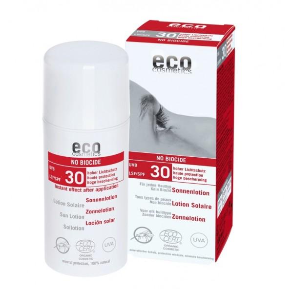 Lotiune Protectie Solara FPS 30 cu repelent pentru insecte - Eco Cosmetics