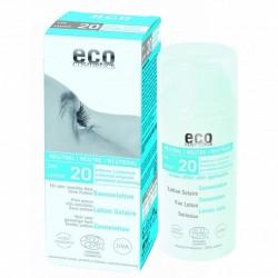 Lotiune fluida de protectie solara FPS20, fara parfum - Eco Cosmetics