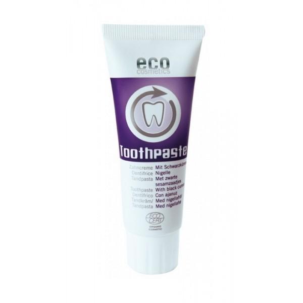 Pasta de dinti homeopata cu chimen negru, fara fluor - Eco Cosmetics