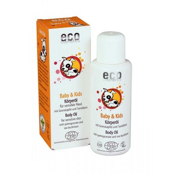 Ulei masaj 100% organic cu rodie si catina - Eco Cosmetics