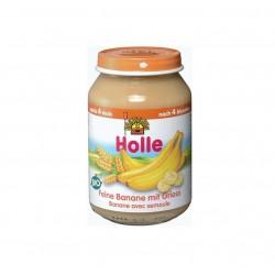Piure de banane si gris - Holle