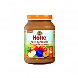 Piure de mere si prune - Holle