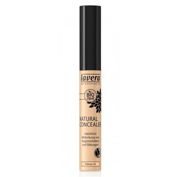 Corector lichid pentru cearcane si imperfectiuni Honey 03  - LAVERA