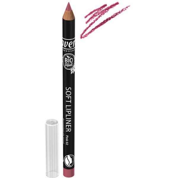 Creion BIO contur buze Pink 02 - LAVERA