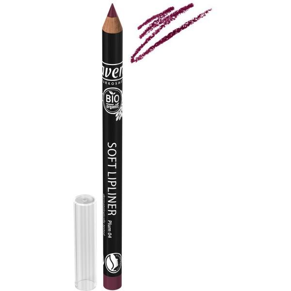 Creion BIO contur buze Plum 04 - LAVERA