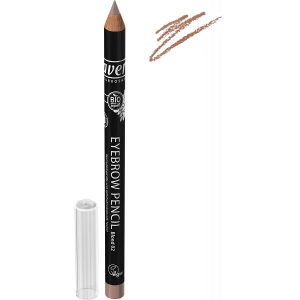 Creion pentru sprancene Blond 02 - LAVERA