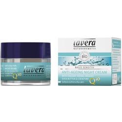 Crema de noapte antirid cu coenzima Q10 - Lavera