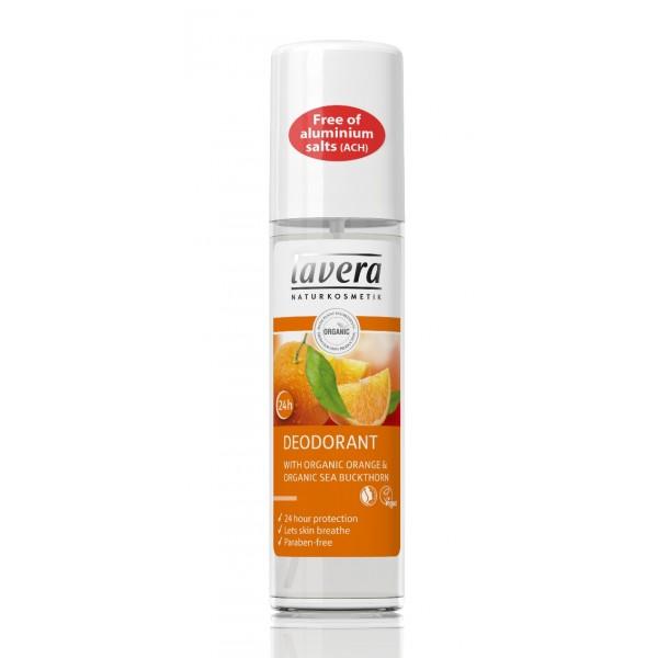 Deodorant spray natural 24h Portocale si Catina  - LAVERA