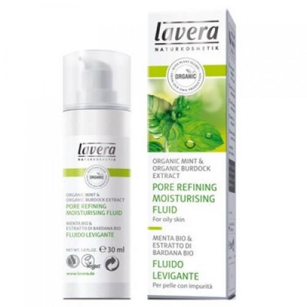 Fluid hidratant pentru inchiderea porilor - Lavera