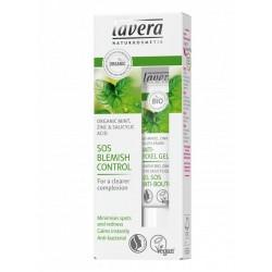 Gel SOS anti acnee cu menta, zinc si acid salicilic natural - LAVERA