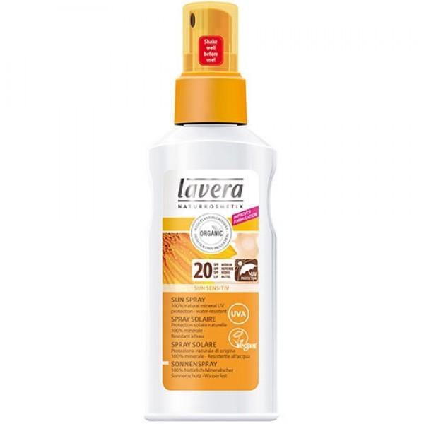 Spray cu extract de galbenele pentru protectie solara FPS 20  - LAVERA