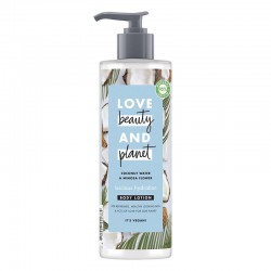Lotiune Corp Coconut Water and Mimosa Flower, 400ml - Love Beauty and Planet