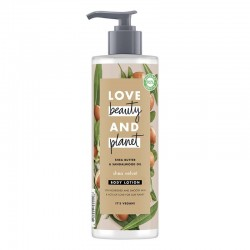 Lotiune Corp Shea Butter and Sandalwood Oil, 400ml - Love Beauty and Planet