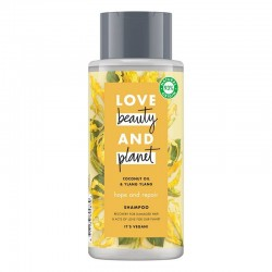 Sampon Coconut Oil and Ylang Ylang, 400ml - Love Beauty and Planet