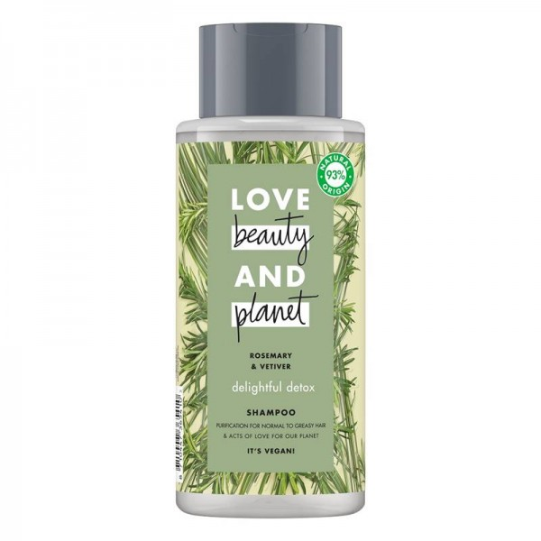 Sampon Rosemary and Vetiver, 400ml - Love Beauty and Planet
