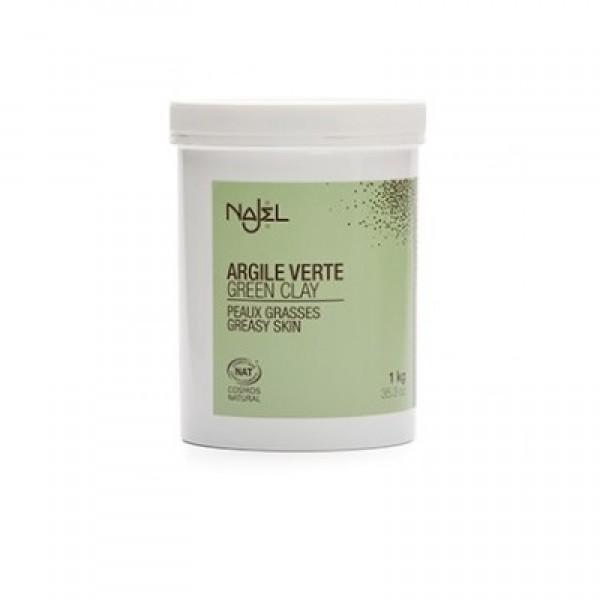 Argila verde fina pentru ten mixt sau gras - NAJEL