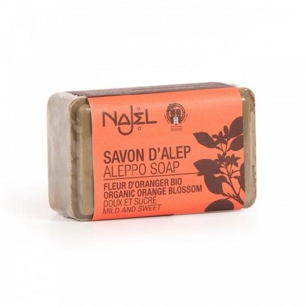 Sapun de Alep cu flori de portocal - NAJEL