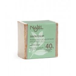 Sapun traditional de Alep cu 40% ulei de dafin - NAJEL