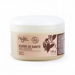 Unt de shea organic cu aroma de vanilie - NAJEL