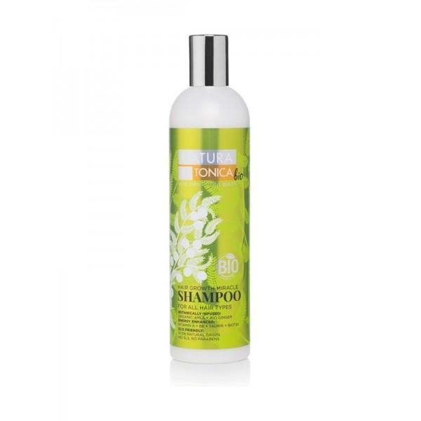 Sampon pentru stimularea cresterii parului Hair Growth Miracle - Natura Estonica