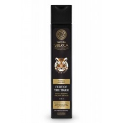 Sampon si gel de dus pentru barbati Fury of the Tiger - Natura Siberica