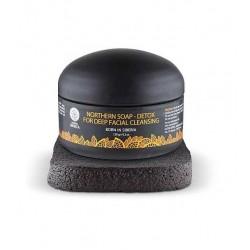 Sapun negru detoxifiant cu carbon activ pentru curatarea porilor in profunzime - Natura Siberica