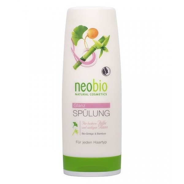 Balsam pentru stralucirea parului cu ginkgo si bambus - Neobio
