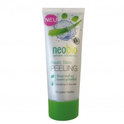Peeling FRESH SKIN cu aloe vera si menta - Neobio
